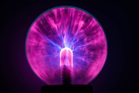 Magic crystal ball for a seance. Mysticism and Accultism. Prediction Banque d'images