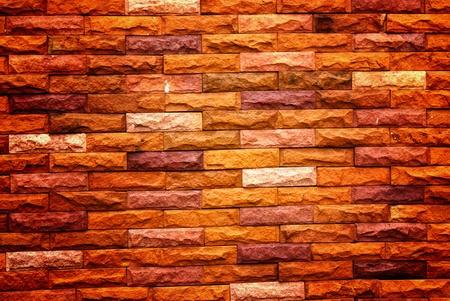 Stone tile wall photo