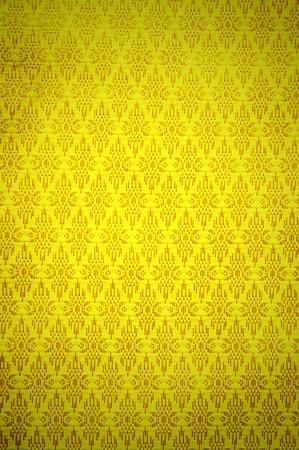 Thai golden net pattern fabric with gradient photo