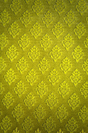 Thai golden cluster pattern fabric with gradient photo