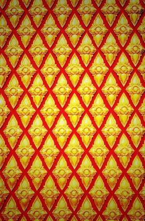 Gradient grunge thai pattern wall photo