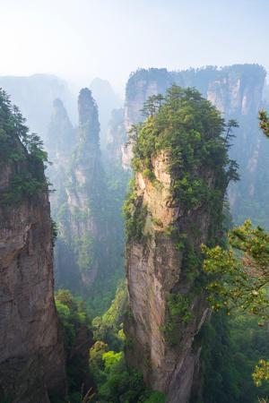 hunan: Zhangjiajie National Park in Hunan, China
