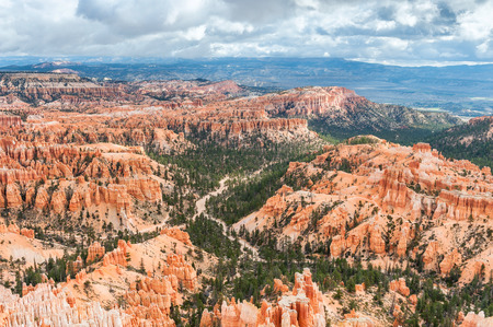 natural landmark: natural landmark Bryce Canyon National Park in Utah, USA