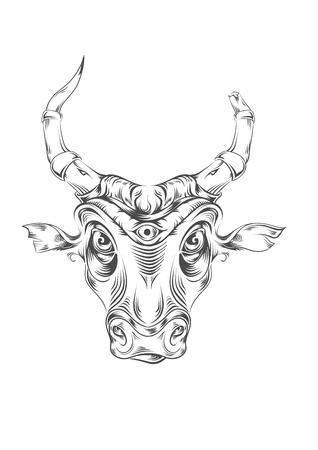 bull  Иллюстрация