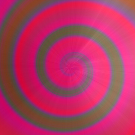 Colorful pink circle swirl clockwise with flashlight background. Futuristic rainbow spiral illustration.