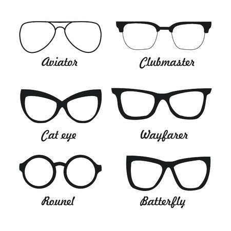 set types of sunglasses
