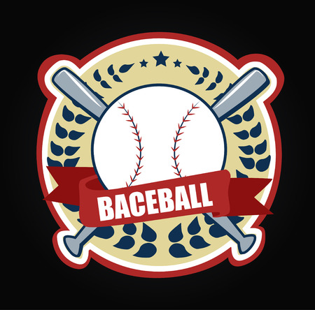 sport icon Baseballs illustration art