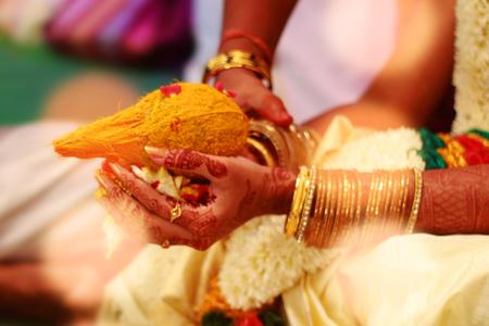Indian wedding ceremony. Stock Photo