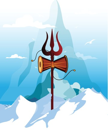Maha Shivratri, a Hindu festival celebrated of Lord Shiva.