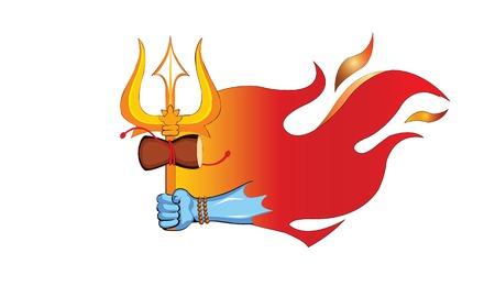 illustration of Lord Shiva, Indian God, Shivratri or Mahashivratri