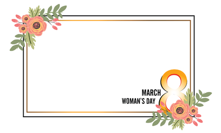 Postcard to March 8, with paper flowers. brochures, postcards, tickets, advertisements, banners.