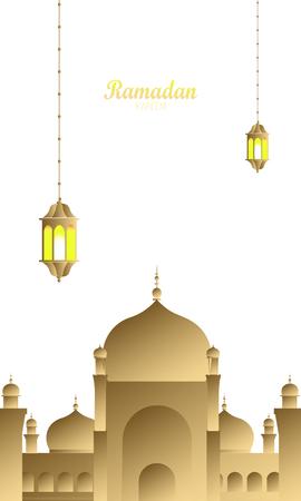 Ramadan Kareem beautiful and creative greeting card, menu, invitation, poster, banner