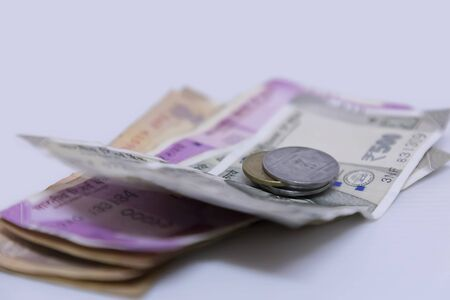Indian currency note Two thousand, five hundred rupee note Stock fotó