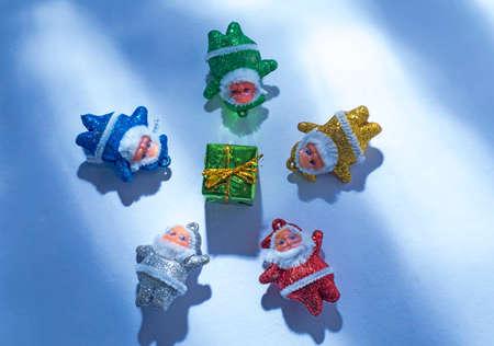 christmas decoration on a white background. Christmas Santa Claus