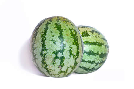 Watermelon isolated on the white backgrounds
