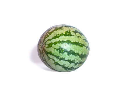 watermelon isolated on white backgrounds.