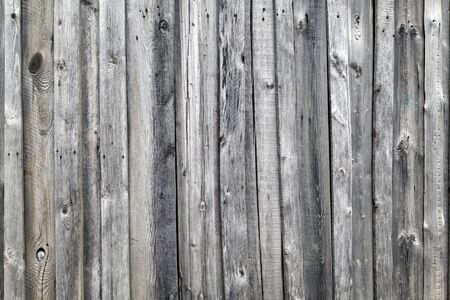 Weathered wooden wall texture. Old wooden fence. Background of old retro vintage aged texture. Gray boards. Foto de archivo - 150128414