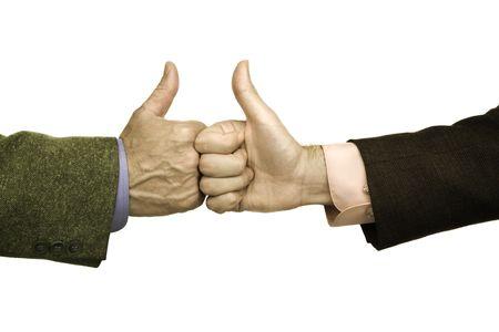 buen trato: buen trato, aislados manos de los empresarios