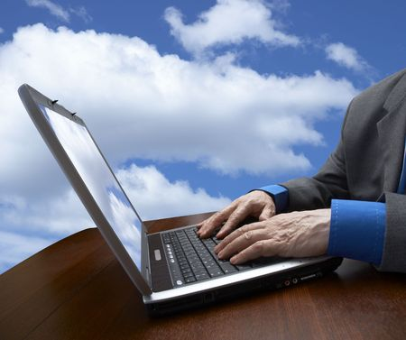 work on the laptop Stock Photo - 365478