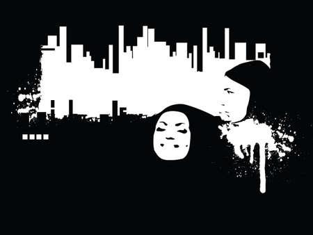 estilo urbano: Estilo urbano (espacio para su texto, hizo mi forma de im�genes y fotos)