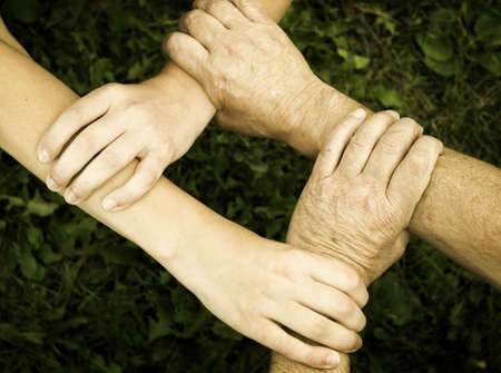 united hands,special toned photo fx photo