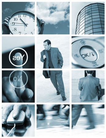 business ( made from my images) Stock Photo - 1068047