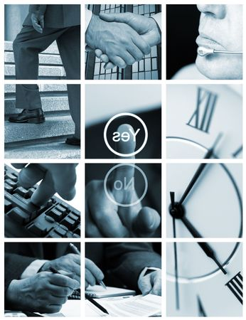 business ( made from my images) Stock Photo - 1068048