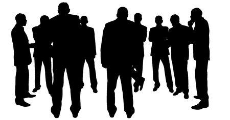 big deal: business people
