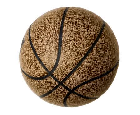 isolated basketball on white background Stock Photo - 1236201