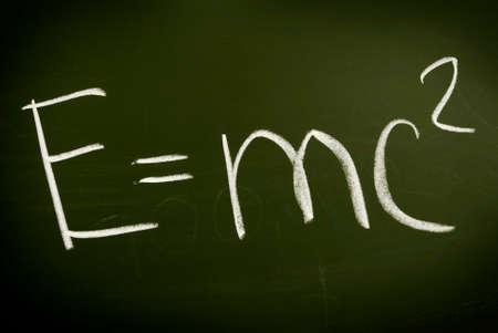 Einshtein physical formula photo
