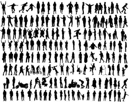 musician silhouette: people