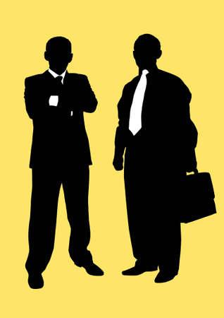 two busiessmen photo