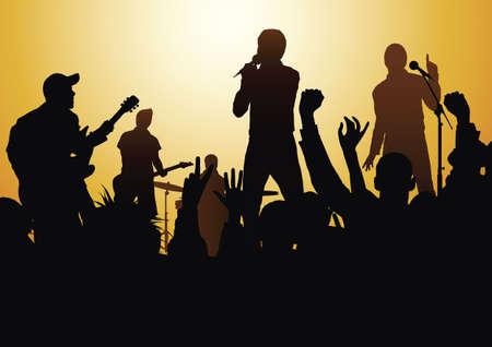 rock concert: Concierto de rock