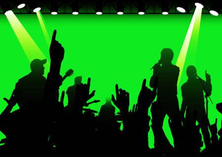 rock concert Stock Photo - 2746066