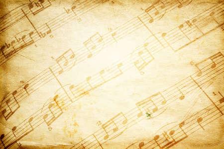 vintage music Stock Photo