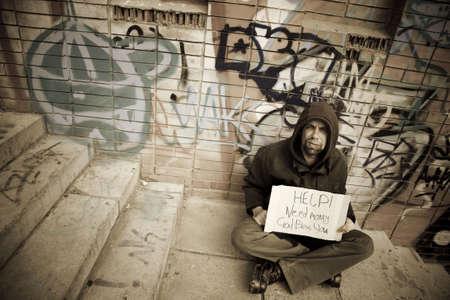 poorness: life on street
