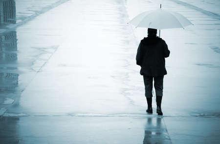 lluvia paraguas: lluvia urbana