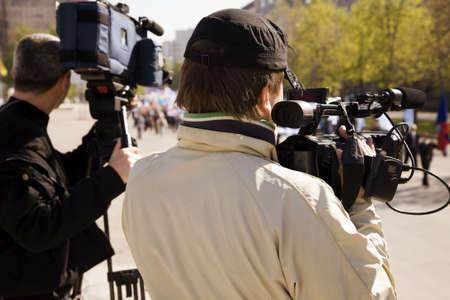 news reporter: reportage