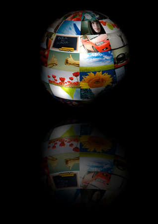 photo globe (made from my images) photo