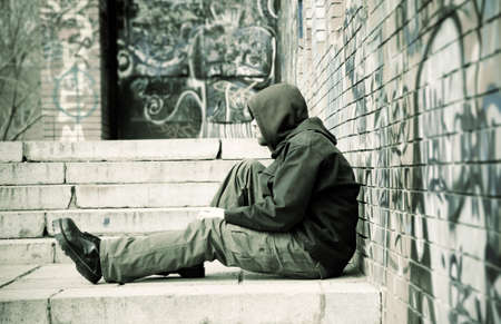 vagabundos: las personas sin hogar