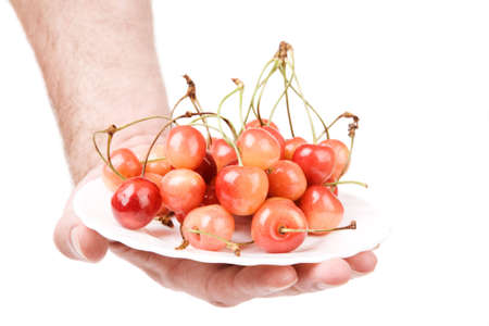 bacca: hand with cherry