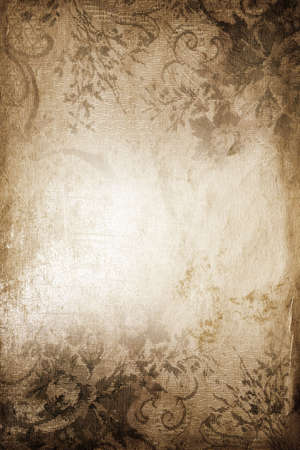 creases: vintage art-work Stock Photo