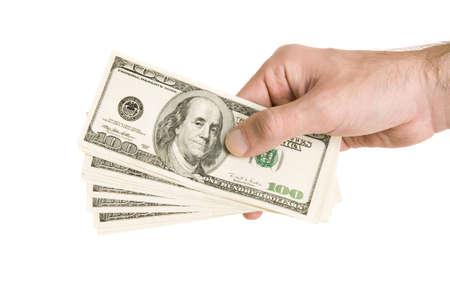 moneymaker: hand with money