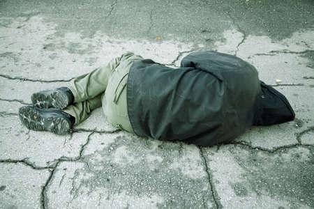 homeless: hogar Foto de archivo