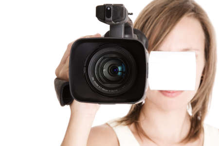 woman with video photo