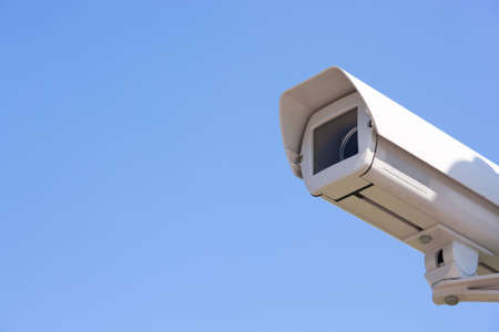big brother concept , selective focus on nearest part of camera Stock Photo - 4929770