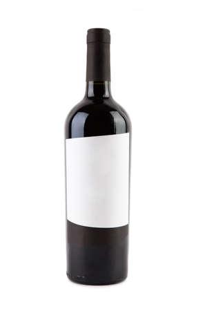 isolated wine bottle Stock Photo - 5192429