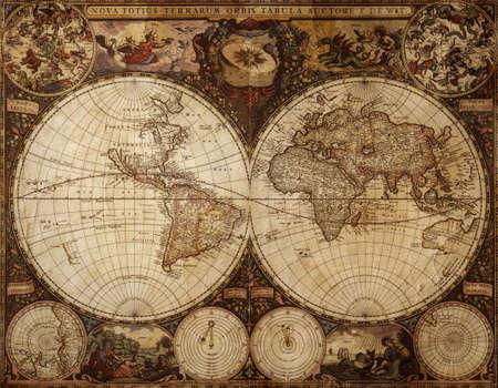 alten Druck made in 1720, special toned, ideal für Design und Kunst-Arbeit