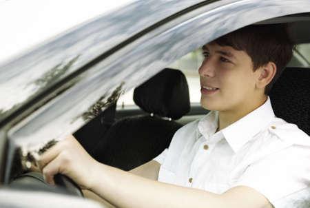 happy driving Stock Photo - 6338593