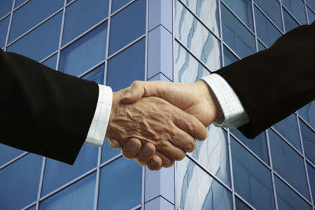 businessmen handshake  Stock Photo - 6446797